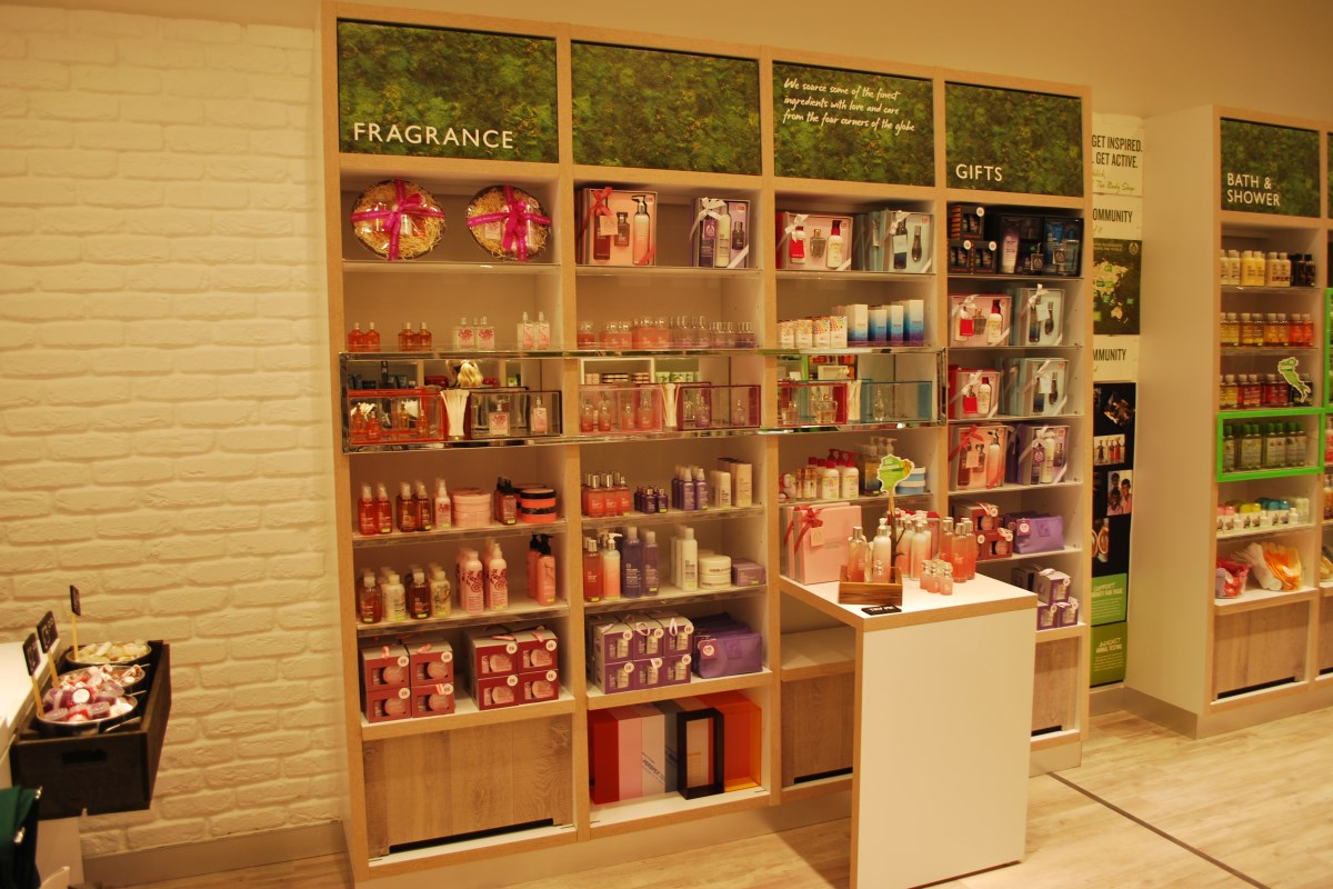 The Body Shop - IPD Shopfitting